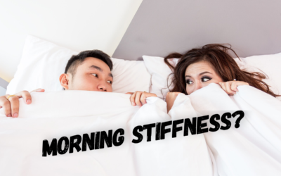 My Husband wakes up with morning stiffness. What can be done for Arthritis?