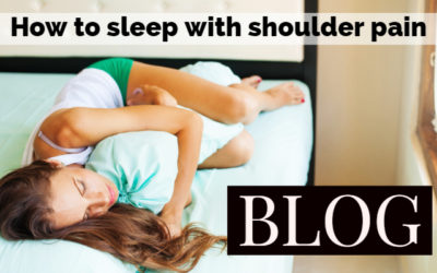 How to sleep when you have shoulder pain