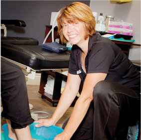 Debbie, Chiropody Assistant