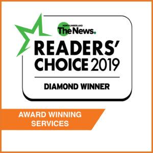 readers choice award 2019 badge