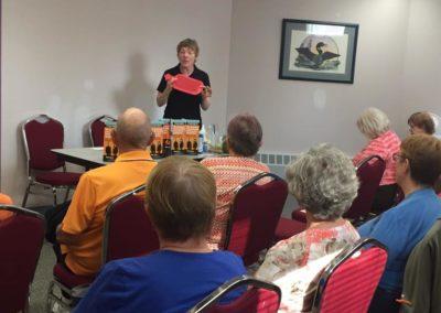Presentation at Bowmanville Older Adult Association