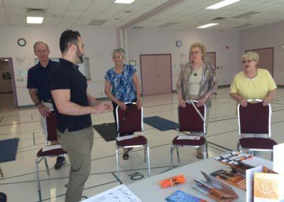 Wellness Presentation to Seniors