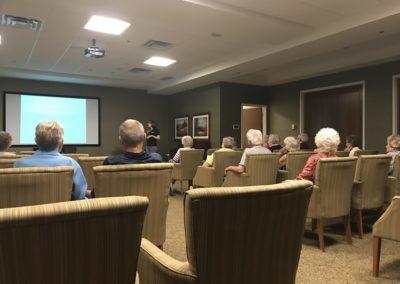 Diabetic Talk at Seniors Home